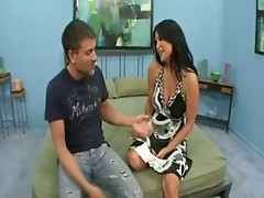 The hot mature with big tits and squelchy pussy