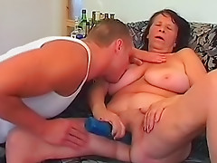Mature woman with big sexy body fucked