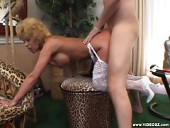 Busty Mature Gal Rides Cock And Gets A Facial