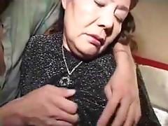 Aged Chinese Masturbation