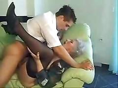 Grandma getting down