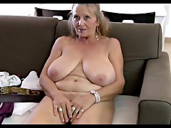 64yr old Hairy Breasty Granny Isabel Shows All Her Stuff