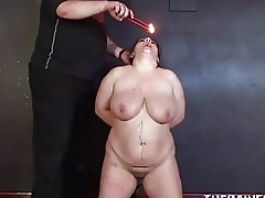 Dilettante s&m and hot wax punishment of older bbw