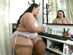 Best of BBW Arkadia in sexy lingerie