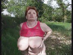 mature, big boobs, british