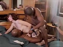 Classic hotwife interracial DP