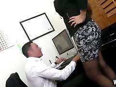 Mother I'd like to fuck Boss Mercedes Uses Her Hawt Gazoo