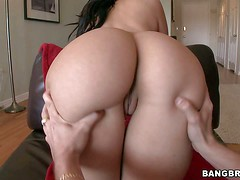 Valerie Kay is a curvy long haired brunette with perfect