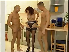 German housewifes and two guys