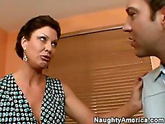 Sexy Mature Vanessa Videl Gets Fucked Hard in the Living Room
