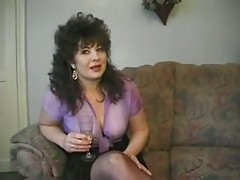 Hot Busty British Cougar Assbanged