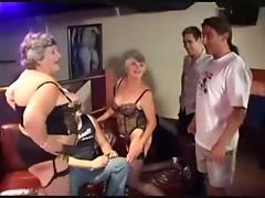 Two Grannies Enjoying Men